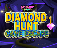 KnfGame Diamond Hunt 1 : Cave Escape Walkthrough