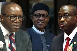 Buhari, Kachikwu and Baru
