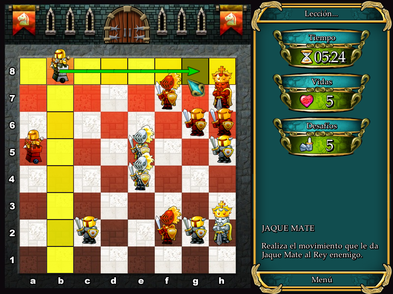 ajedres y leyendas 1 para xo
