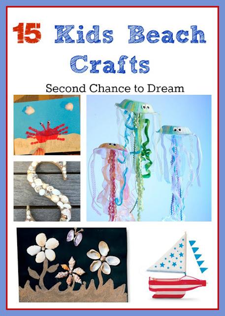 15 Kids Beach Crafts