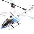 AM3001 Metal 3.5 Channel Infrared Remote Control Helicopter (Blue)