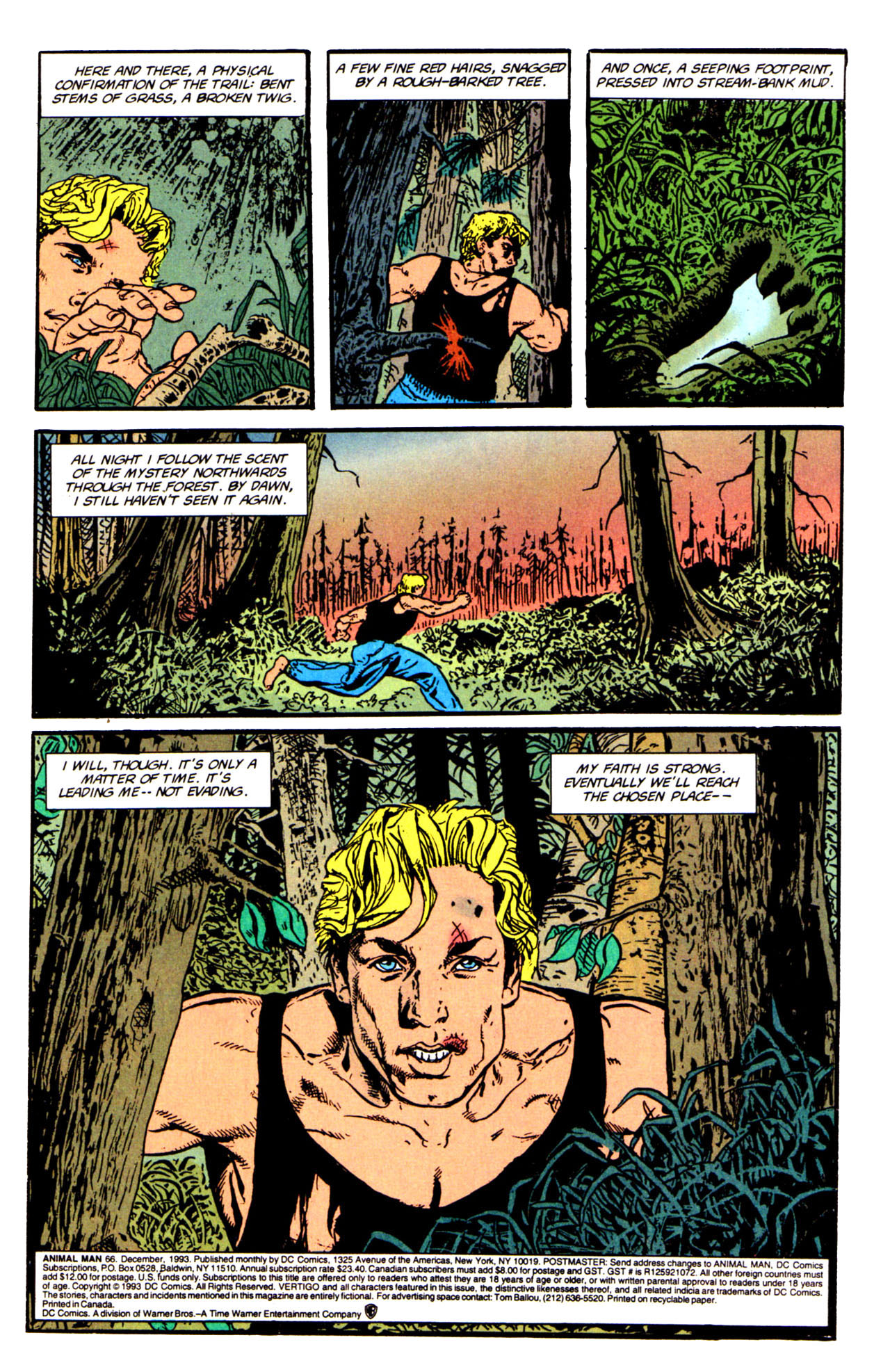 Read online Animal Man (1988) comic -  Issue #66 - 3