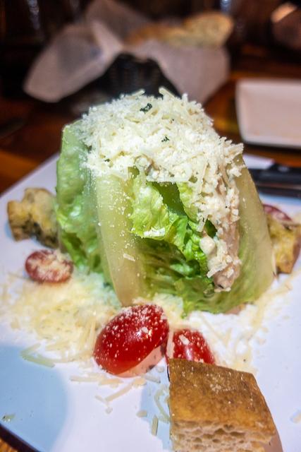 Caesar Salad - Cap's on the Water - St Augustine FL