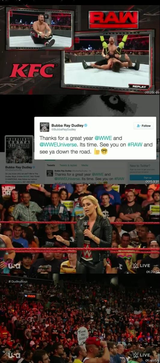 WWE Monday Night Raw Download HDTV 22 August 2016