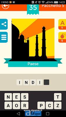 Iconica Italia Pop Logo Quiz soluzione pacchetto 5 livelli 35-75