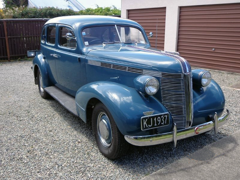 transpress nz 1937 pontiac 4 door sedan