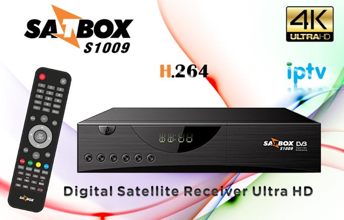 SATBOX S1009 NOVA ATUALIZAÇÃO V1.1520 - 30/11/2016
