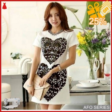 AFO691 Model Fashion Dress love Modis Murah BMGShop