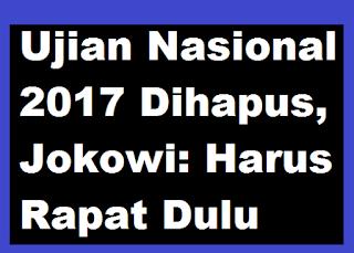 gambar Ujian Nasional 2017 dihapus