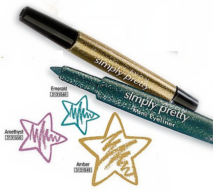 Avon Simply Pretty Glitter and Shine Collection Mini Eyeliner