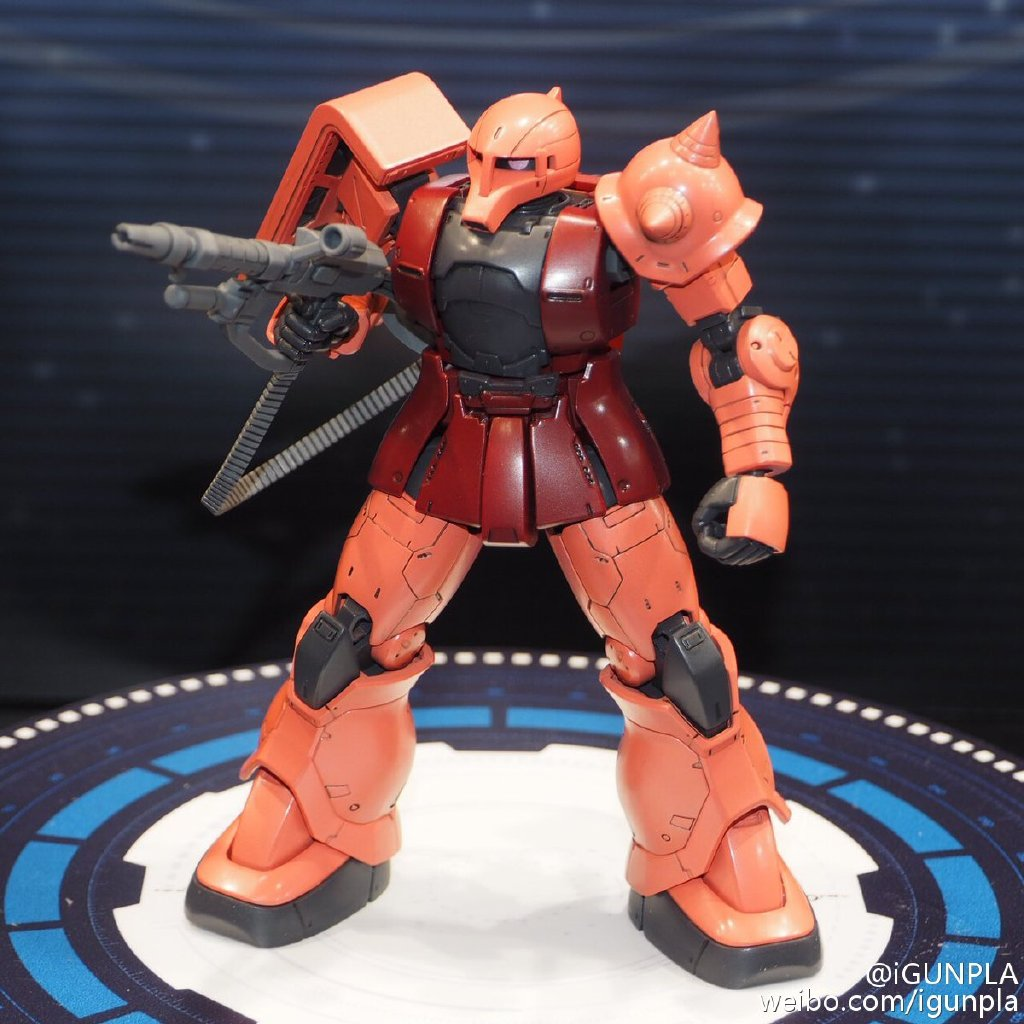 HG 1/144 MS-05 Char's Zaku I [Gundam The Origin]