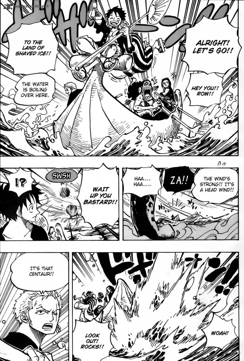 One Piece 659: A Situation With My Body