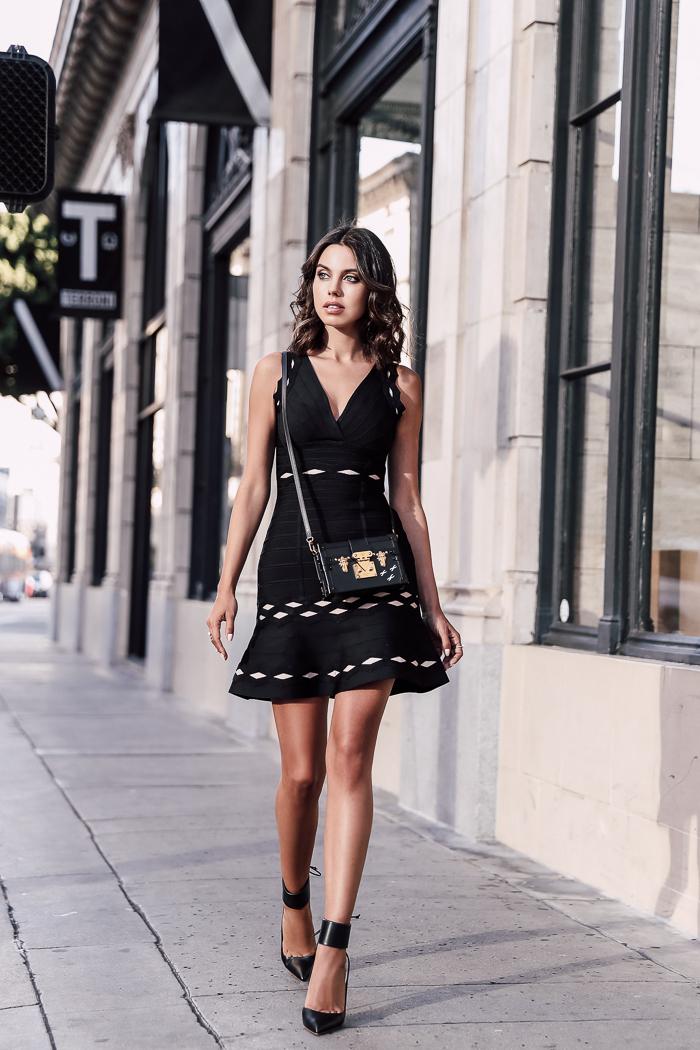 HERVÉ LÉGER :: LITTLE BLACK DRESS