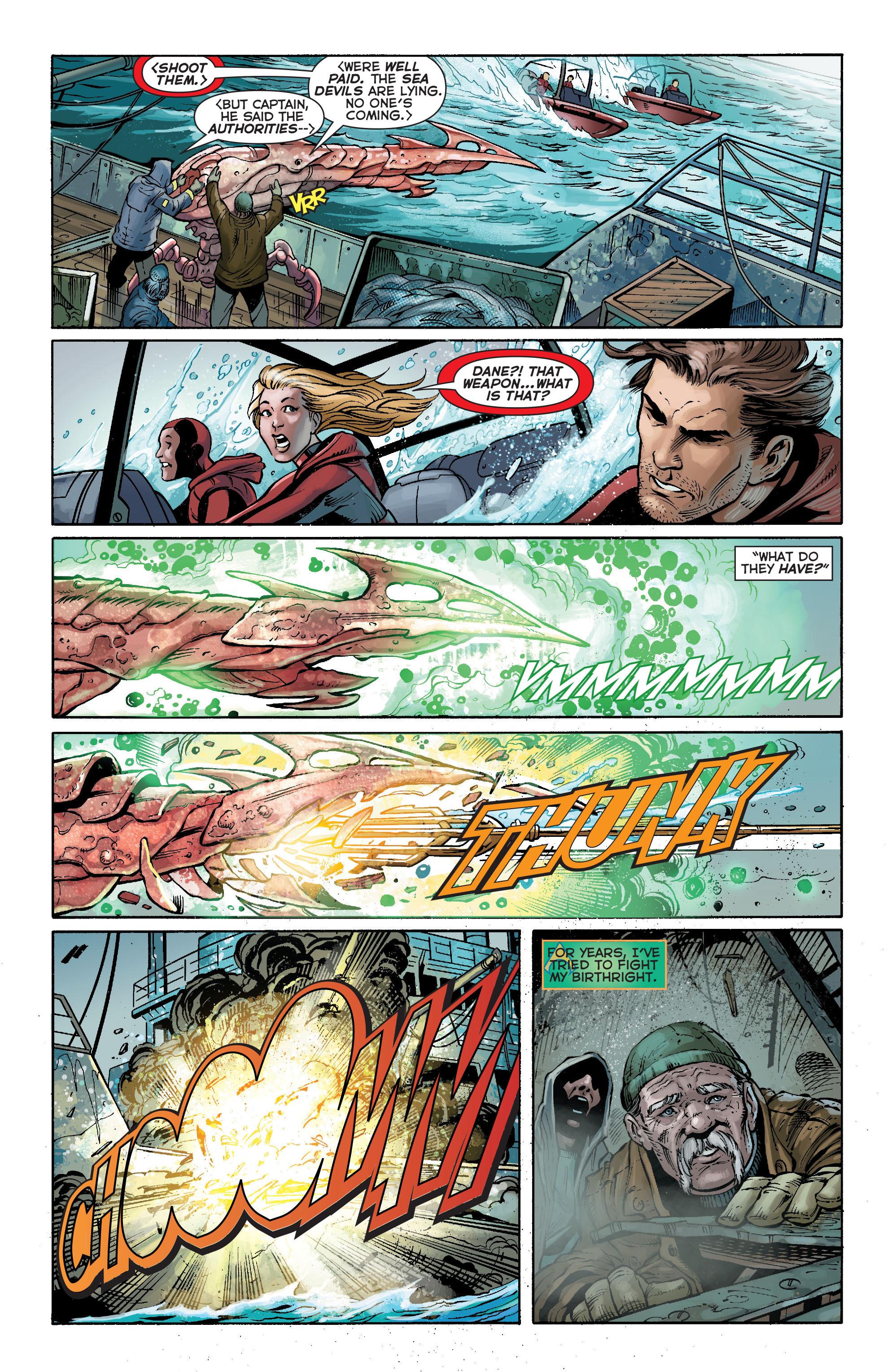 Read online Aquaman (2011) comic -  Issue #17 - 4