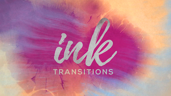 videohive ink transitions free download after effect projects