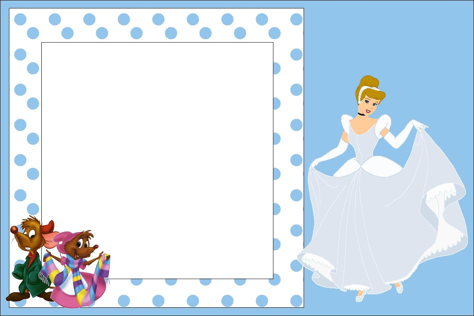 Cinderella Free Printable Invitations Oh My Fiesta In English