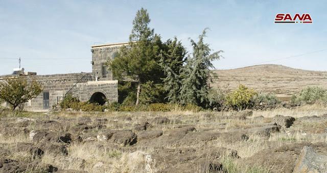 بالصور قرية تحولا بالسويداء القرية الوادعة.