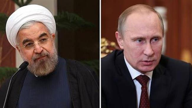 Presidents of Iran and Russia discuss Syria crisis, JCPOA over phone