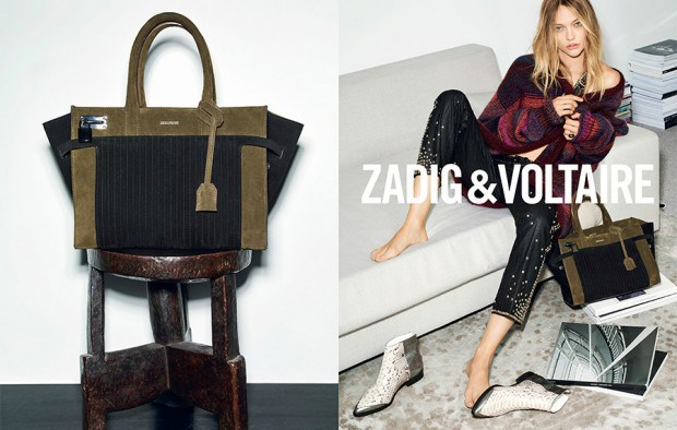 Zadig & Voltaire Fall Winter 2015 Ad Campaign