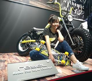 横乗り系スポーツに欠かせないホンダレブル250cc。 気になる中型バイクです。