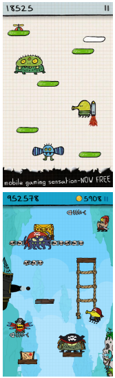 Download Doodle Jump v3.9.9 (Mod Apk Money/Unlocked) Terbaru