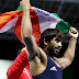 Bajrang Punia won international gold while Pinki was lone gold medallist