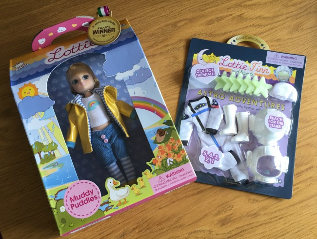 Lottie-Doll-Muddy-Puddles-and-astro-adventurer-outfit-in-packaging