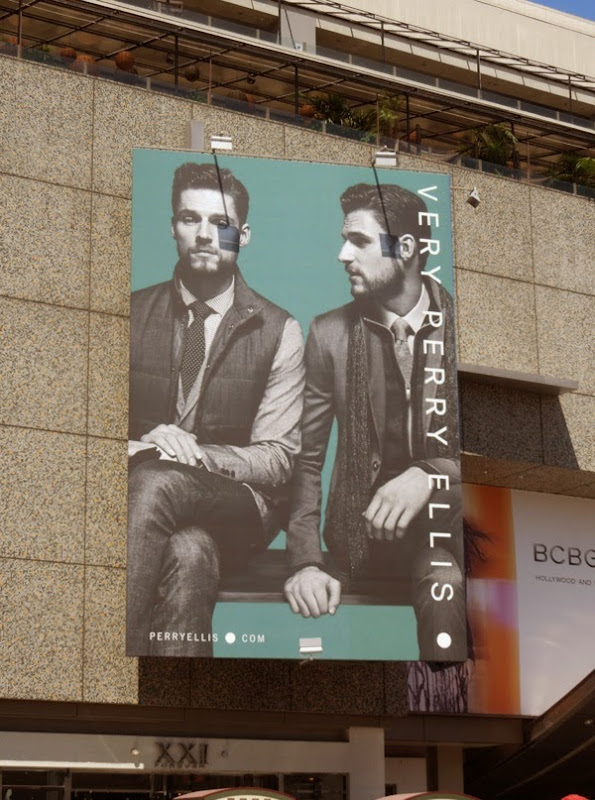 Very Perry Ellis Fall Winter 2014 billboard
