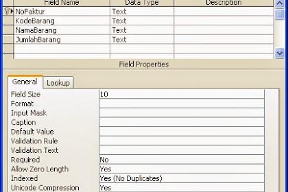 Cara Membuat Penomoran Kode/Nomor Faktur Otomatis di VB 6.0