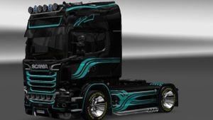 SD v4 skin for Scania Streamline