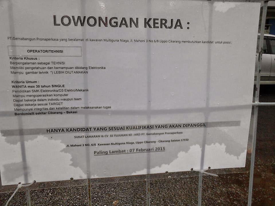 Loker Kawasan Cikarang Loker Like Info 2016 Beralamat Di Kawasan Multiguna Niaga Jl Mahoni 3 No68 Lippo Cikarang