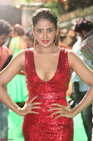 Parul Yadav in Sleeveless Deep Neck Red Gown at IIFA Utsavam Awards March 2017 055.JPG
