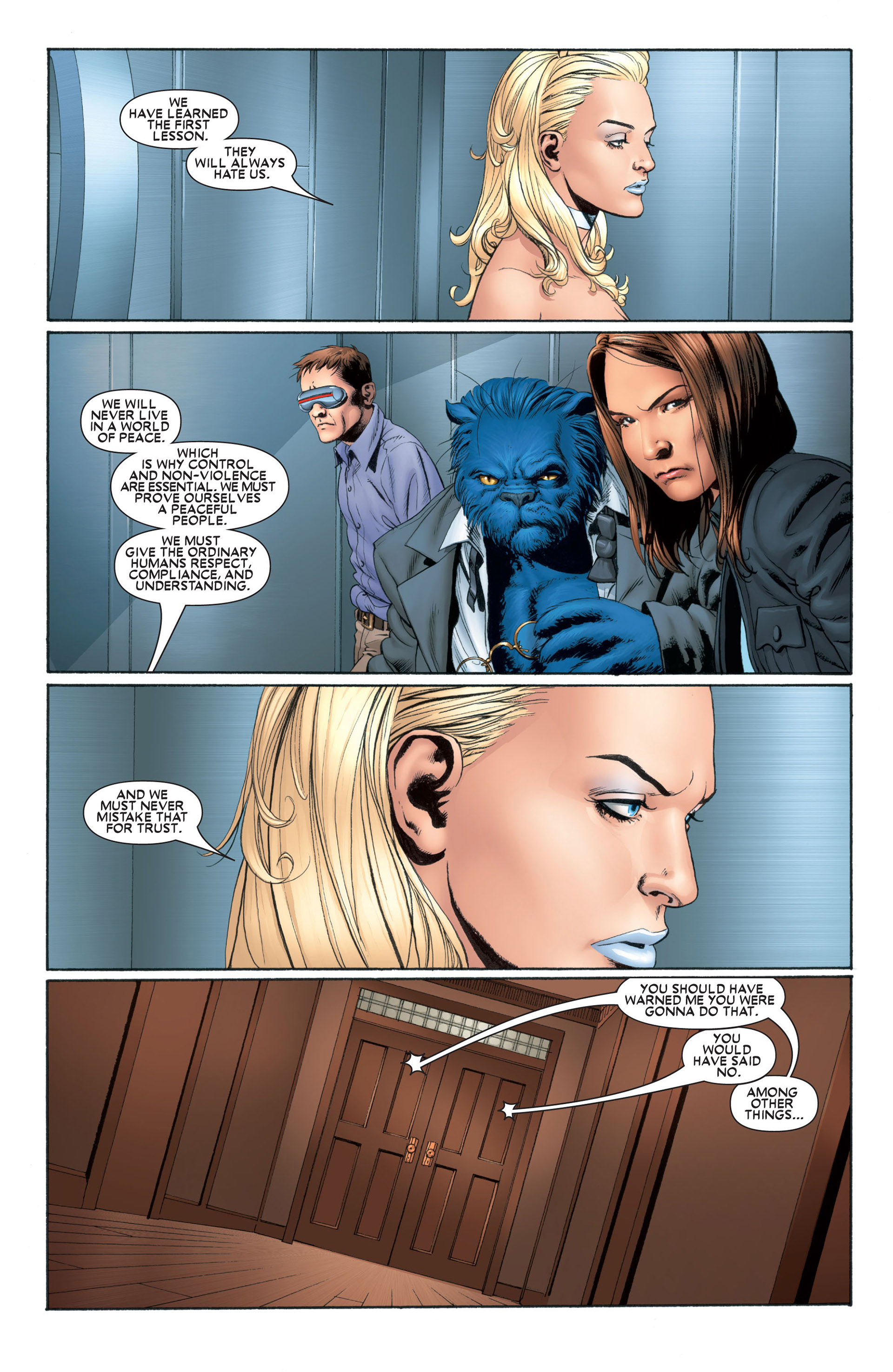 Astonishing X-Men (2004) issue 1 - Page 10