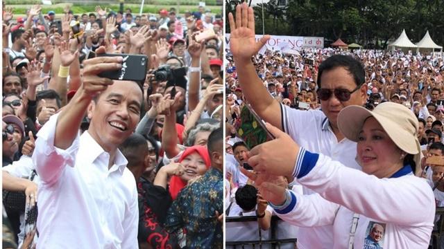 Hasil Survei Jokowi vs Prabowo di Jawa Barat