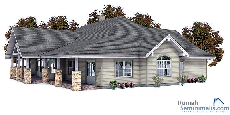 Denah Model Desain Gambar Rumah Minimalis Idaman Sederhana Tipe 139