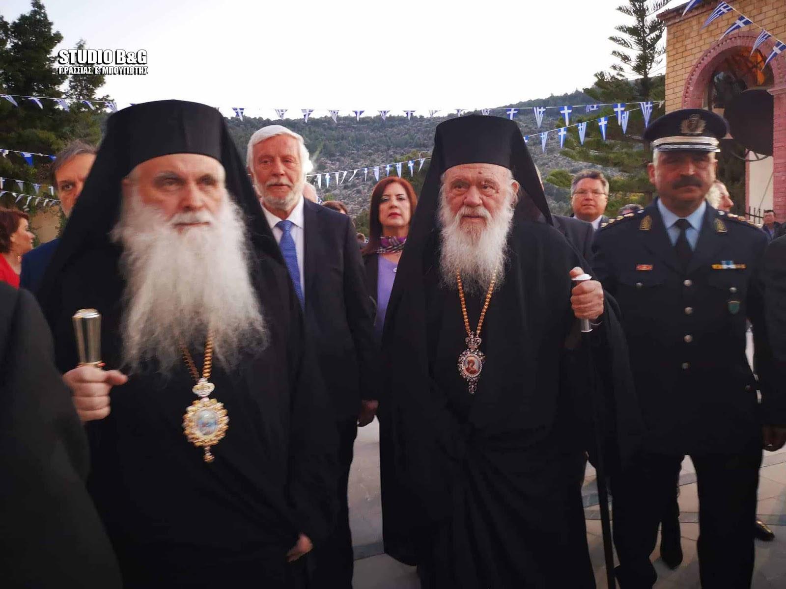 Ο Εσπερινός του Ευαγγελισμού στο Ναύπλιο με την παρουσία του Αρχιεπισκόπου Αθηνών και πάσης Ελλάδος