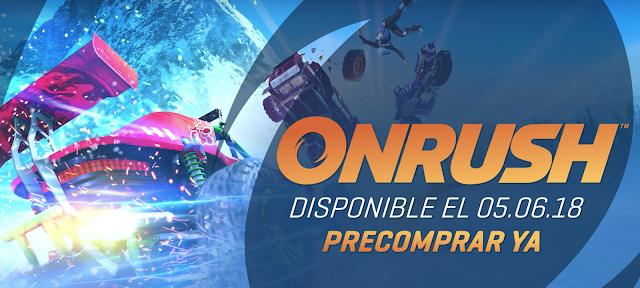 Las originales y vertiginosas carreras de ONRUSH en un nuevo vídeo
