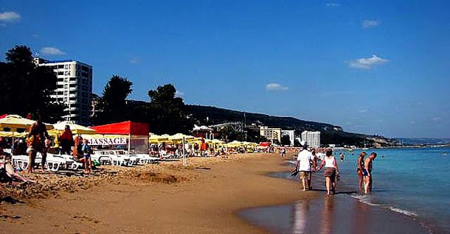 плаж в комплекса златни пясъци