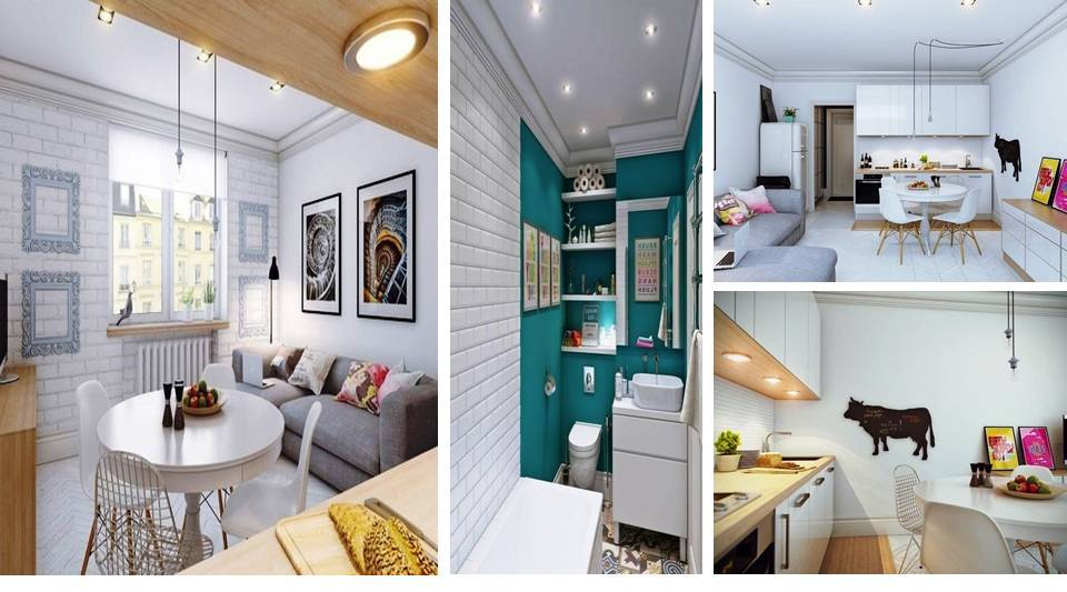 The Design Of The Apartment Is Only 25 Square Meters M Decor Units
