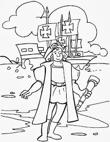 Columbus Day Coloring Pages - Best Coloring Pages For Kids | 280x216