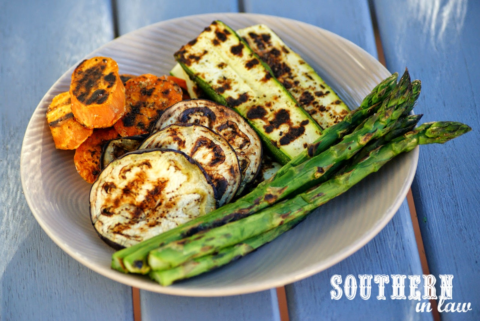 Healthy Grilling Tips - Healthy Seasoned Grilled Vegetables Recipe - low fat, vegan, gluten free, vegetarian, sugar free