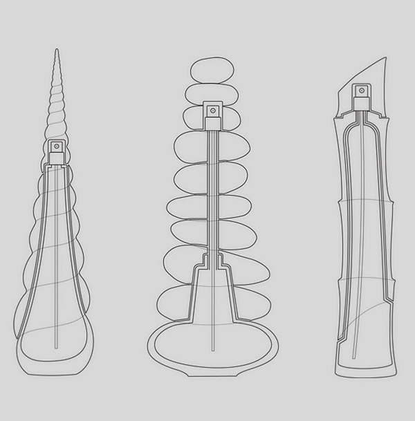 creative perfume bottles