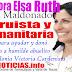 Regidora Elsa Ruth Cruz Maldonado, donó un abanico a abuelito de la colonia Victoria Cárdenista