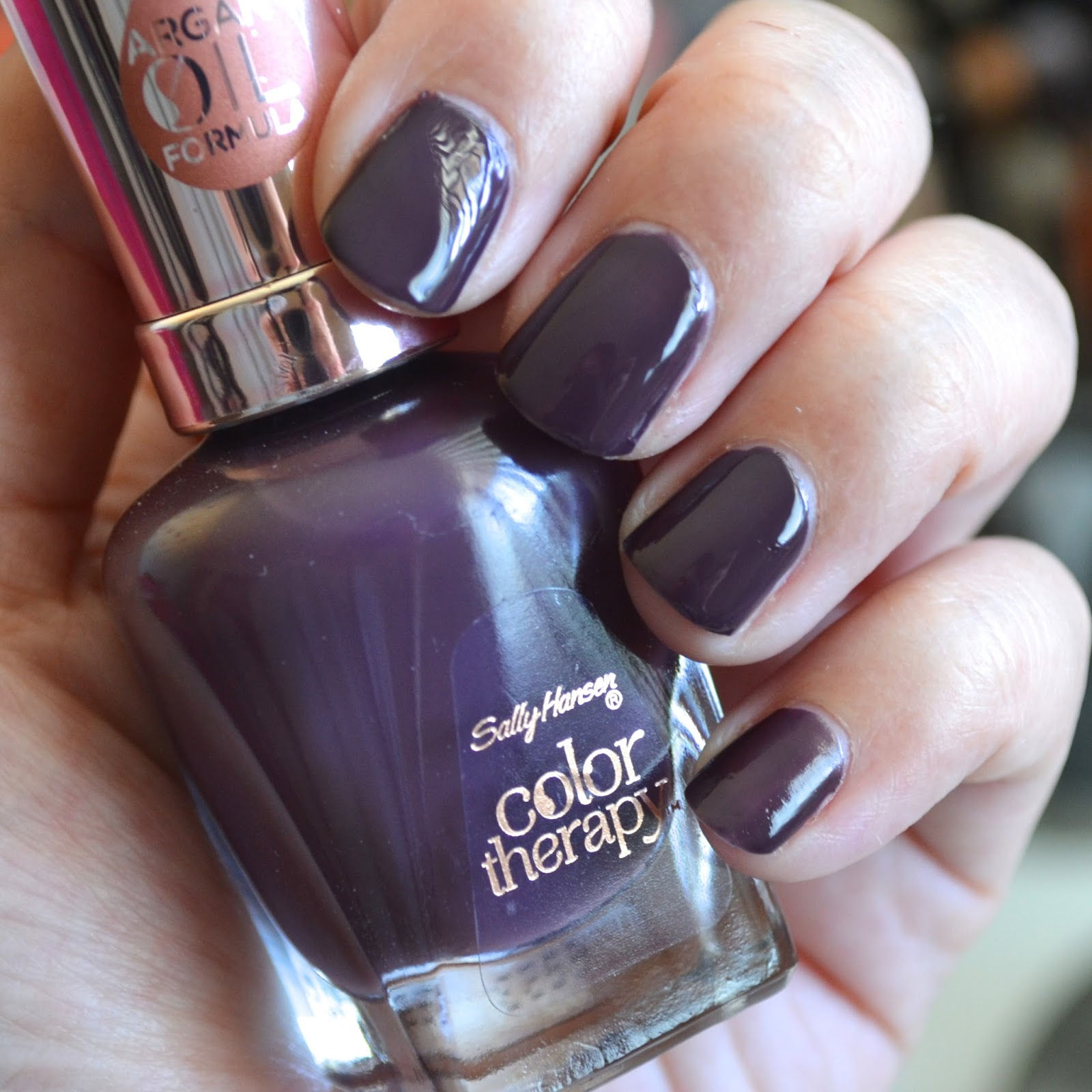 Aquaheart Sally Hansen Color Therapy 4 Shades Swatches And Review
