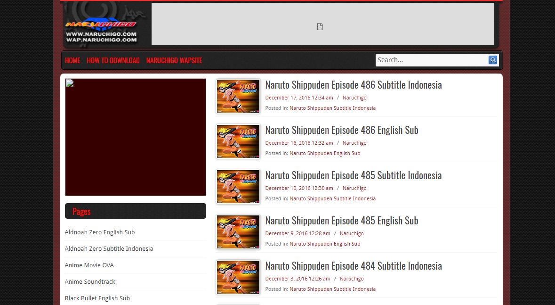 Situs Download Video Naruto Terlengkap