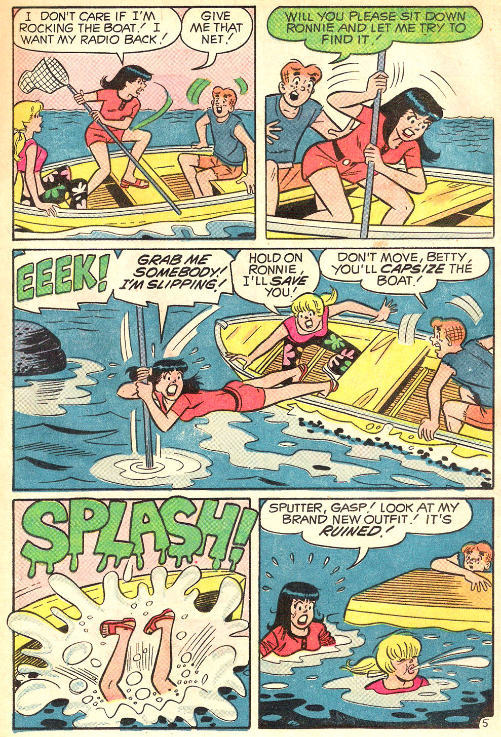 Read online Archie's Girls Betty and Veronica comic -  Issue #177 - 17