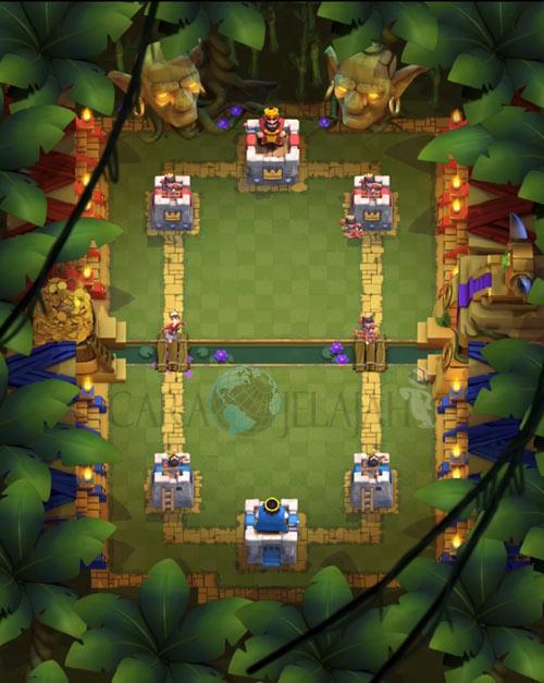 Jungle Arena Update baru Clash Royale 13 Jan 2017