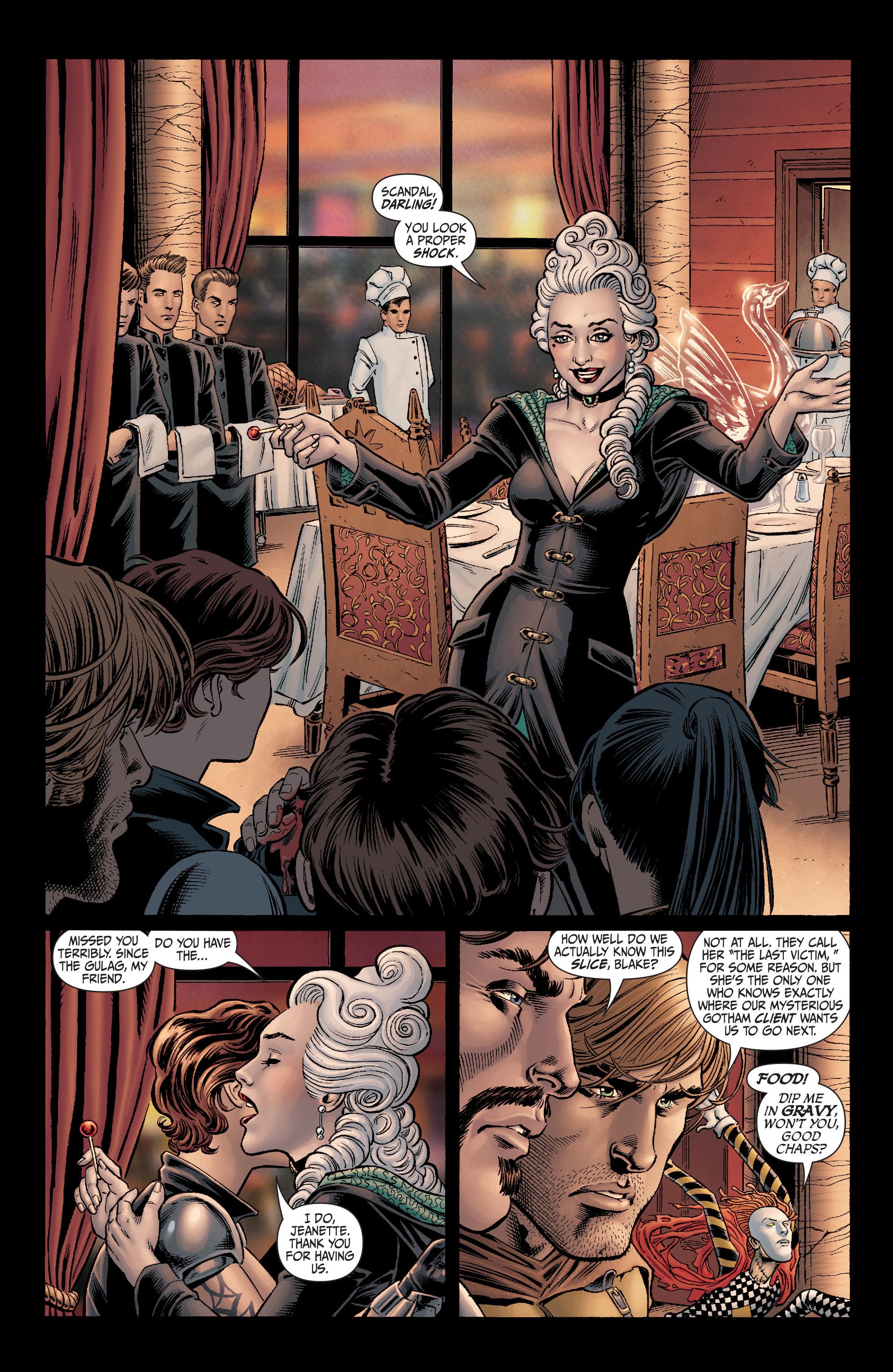 Read online Secret Six (2008) comic -  Issue #4 - 17