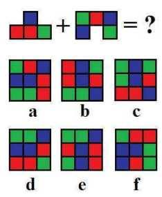 Pattern Image Equation Puzzle