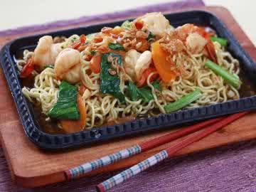 Resep Mie Goreng Seafood Hot Plate